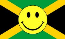 JAMAICA SMILEY - 5 X 3 FLAG